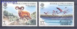Cyprus (Republic) 1986 Mi 655-656 MNH ( ZE2 CYP655-656 ) - Selvaggina