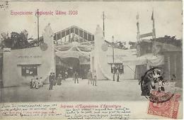 ITALIE - RARE - UDINE - Esposizione Regionale Udine 1903 - Ingresso All Esposizione D'Agricoltura - 1903 - Udine