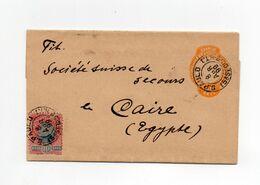 !!! BRESIL, ENTIER POSTAL DE 1899 POUR LE CAIRE - Briefe U. Dokumente