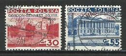 Polen 313-14 O - Used Stamps