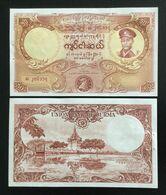 BURMA (MYANMAR) 50 KYATS BANKNOTE (1958) UNC - Myanmar