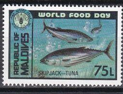 Malediven Maldives 1981 - Mi.Nr. 967 - Postfrisch MNH - Tiere Animals Fische Fishes FAO - Peces