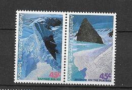 "Australie (territoire Antarctique)  N° 106-107**  ""Tableaux De Christian Clare Robinson"" - Unused Stamps"