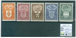 756-760 Xx - Unused Stamps