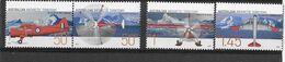 "Australie (territoire Antarctique)  N° 161 à 164**  ""Anciens Avions"" - Unused Stamps"