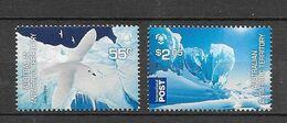 "Australie (territoire Antarctique)  N° 177-178**  ""Protection Des Zones Polaires - Unused Stamps"