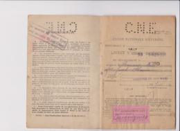 CAISSE NATIONALE D'EPARGNE HABITANT De RECQUIGNIES (NORD) 1932 - Banca & Assicurazione