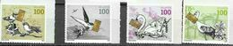 SWITZERLAND, 2020, MNH, OCCASION STAMPS, BIRDS,4v - Andere