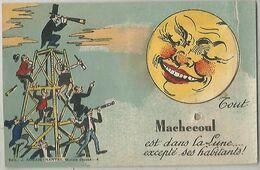 MACHECOUL Carte Systeme - Machecoul