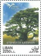 Lebanon 2017, EUROMED - Trees, MNH Single Stamp - Lebanon