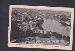 Vente Immediate Vilnius Vilna Vom östlichen Kriegsschauplatz Blick Auf Die Stadt WILNA  In Der Mitte Der Wilijafluss - Lituania