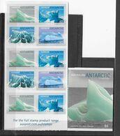 Australie (territoire Antarctique)Carnet N° C183*, Icebergs De L'Antartique - Ongebruikt