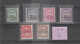 KOUANG TCHEOU - Petite Collection De 6 Timbres Du N° 78 à 83 - TOP AFFAIRE - Unused Stamps