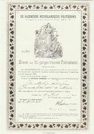 Oude Kopie Van De Nederlandsche Politiebond 1895 - Police