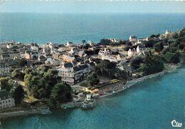 """¤¤  -   LOQUIREC   -   Vue Aérienne  -  """" Hôtel Des Bains """" Et La Pointe      -  ¤¤ - Locquirec"""