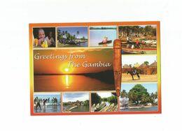 Gambia Postcard - Gambia