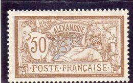 Alexandrie :année 1902-03 N° 30* - Unused Stamps