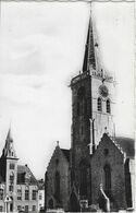 Lede.   -   St. Martinuskerk & Gemeentehuis.   -   FOTOKAART! - Lede
