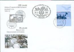 Germany 2003 Sonder Luftpostbrief Nordatlantikflug Ed12 - Covers & Documents