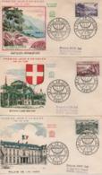 1959  FDC SITES ET MONUMENTS        N° YVERT ET TELLIER  119274   OBLITERATION MUSEE POSTAL - 1950-1959