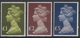 Grande-Bretagne 1977. Michel N° 732/34 Ou Y&T N° 822/24, MNH, **, Neufs. - Nuovi