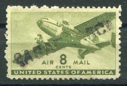 """RC 15722 USA 8c VERT MARQUE LINÉAIRE """" CASABLANCA """" ( MAROC ) WWII - 2a. 1941-1960 Gebraucht"""