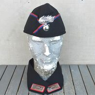 Bustina Gabardina ANC Associazione Nazionale Carabinieri Tg. 58-59 Con Colletto - Headpieces, Headdresses