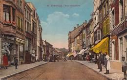 57 - Saint-Avold -Rue Hirschauer (colorisée) (Pharmacie, Tabac) - Saint-Avold