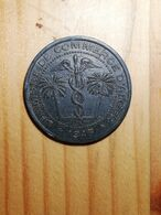 COIN MONNAIE FRANCE JETON NECESSITE CHAMBRE COMMERCE ALGER ZINC 1917 5 CENTIMES SUP - Monetary / Of Necessity