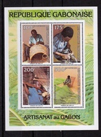 Weaving 1991 UMM M/S - Gabon (1960-...)