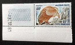 COTE FRANCAISE DES SOMALIS - Vautour Fauve - Y&T N° 309 - 1961 - Côte Française Des Somalis (1894-1967)