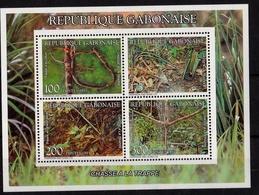 Hunting Traps 1993 UMM M/S - Gabon (1960-...)