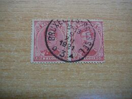 (15.09) BELGIE 1915 Nr 138 Afstempeling BRUXELLES-BRUSSEL - 1915-1920 Albert I
