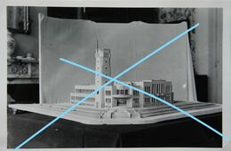 Woluwé Saint Lambert Bruxelles Brussel Maquette Maison Communale 2   1935 Photos - Luoghi