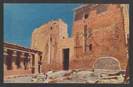 Egypt - RARE - Vintage Post Card - Philae Temple - Briefe U. Dokumente