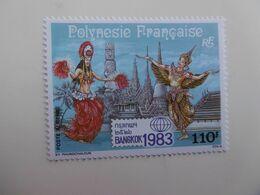 POLYNESIE   PA177  * *  BANGKOK 83 - Unused Stamps