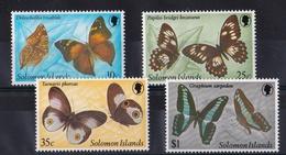 Butterflies 1982 UMM - Solomon Islands (1978-...)