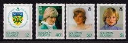 Princess Diana's 21st 1982 UMM - Solomon Islands (1978-...)