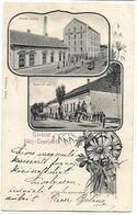 Hungary Yugoslavia Backa Topola Litho Nice Two Motives Picture Postcard - Jugoslavia