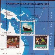 C/wealth Day 1982 UMM M/S - Solomon Islands (1978-...)
