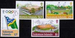 1st Participation In Olympic Games1984 UMM - Solomon Islands (1978-...)