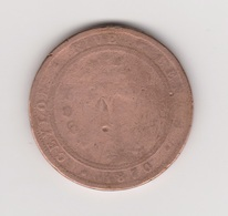 CEYLAN 5 CENTS 1870 VICTORIA - CUIVRE - LONDRES - Sri Lanka