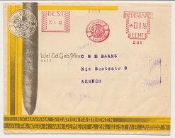 Meter Cover Netherlands 1932 Cigar - Havana Cigar Factory - Best - Tabak