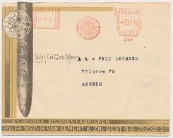 Meter Cover Netherlands 1943 Cigar - Havana Cigar Factory - Best - Tabak