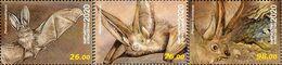 Kyrgyzstan 2020 Fauna Bats 3v MNH - Fledermäuse