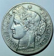 5 Francs Cérès 1850 A TTB - J. 5 Francs