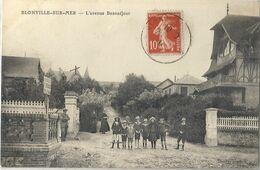 CPA Blonville-sur-Mer L'Avenue Beauséjour - Other Municipalities