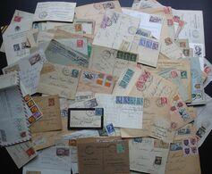 Lot De 300 Lettres Entre 1921 Et 1960  + Ajouts, Voir Description Et Photos De Détail - Poststempel (Briefe)