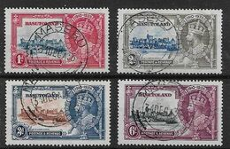 BASUTOLAND 1935 SILVER JUBILEE SET SG 11/14 VERY FINE USED Cat £21 - 1933-1964 Crown Colony