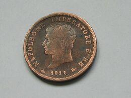 Italie - Italia - 1 Soldo 1811 M - Napoleone Imperatore  **** EN ACHAT IMMEDIAT **** - Napoleonic